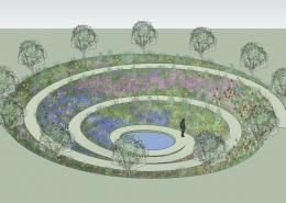 Климатический сад - базовый элемент пермакультуры Зеппа Хольцера